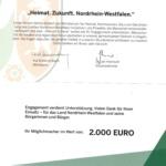 Der Heimatverein Eitorf e.V. erhält Zuwendungsbescheid des Landes!