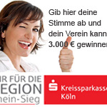 """Vereinswettbewerb """"Wir für die Region Rhein-Sieg"""""""